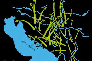 Fluchtbewegungen der Südslaven vor den Türken
