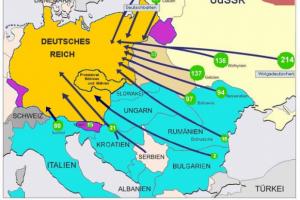 Umsiedlungspläne von Hitler 1939